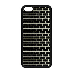 Brick1 Black Marble & Beige Linen Apple Iphone 5c Seamless Case (black) by trendistuff