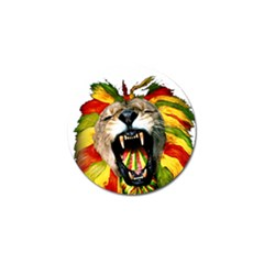 Reggae Lion Golf Ball Marker (10 Pack) by BangZart