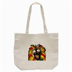 Reggae Lion Tote Bag (cream) by BangZart