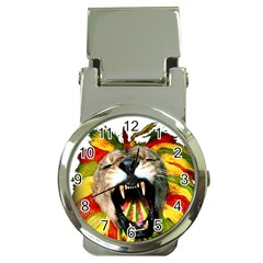 Reggae Lion Money Clip Watches by BangZart