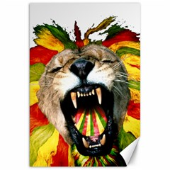 Reggae Lion Canvas 20  X 30   by BangZart