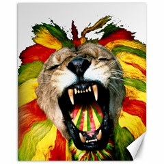 Reggae Lion Canvas 11  X 14   by BangZart