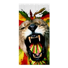 Reggae Lion Shower Curtain 36  X 72  (stall)  by BangZart