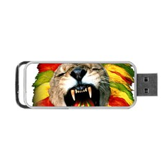 Reggae Lion Portable Usb Flash (one Side) by BangZart