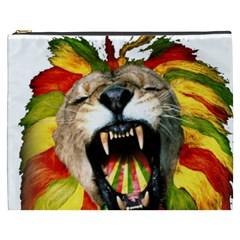 Reggae Lion Cosmetic Bag (xxxl)