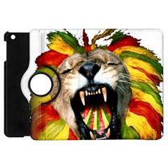Reggae Lion Apple Ipad Mini Flip 360 Case