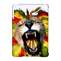 Reggae Lion Apple Ipad Mini Hardshell Case (compatible With Smart Cover) by BangZart