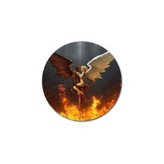 Angels Wings Curious Hell Heaven Golf Ball Marker (10 Pack)