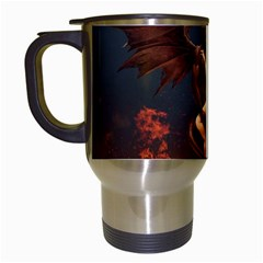 Angels Wings Curious Hell Heaven Travel Mugs (white) by BangZart