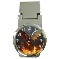 Angels Wings Curious Hell Heaven Money Clip Watches by BangZart