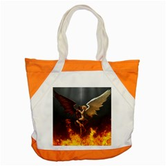 Angels Wings Curious Hell Heaven Accent Tote Bag