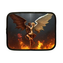 Angels Wings Curious Hell Heaven Netbook Case (small)  by BangZart