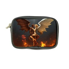 Angels Wings Curious Hell Heaven Coin Purse by BangZart