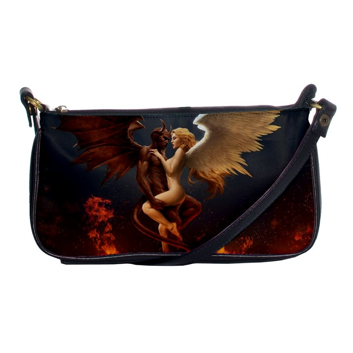 Angels Wings Curious Hell Heaven Shoulder Clutch Bags