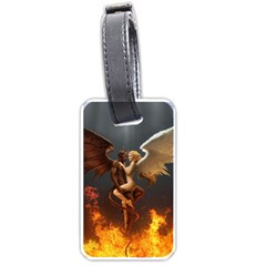 Angels Wings Curious Hell Heaven Luggage Tags (two Sides)