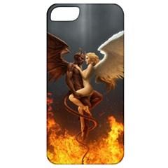 Angels Wings Curious Hell Heaven Apple Iphone 5 Classic Hardshell Case