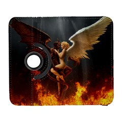 Angels Wings Curious Hell Heaven Galaxy S3 (flip/folio) by BangZart