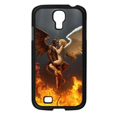 Angels Wings Curious Hell Heaven Samsung Galaxy S4 I9500/ I9505 Case (black)