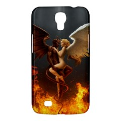 Angels Wings Curious Hell Heaven Samsung Galaxy Mega 6 3  I9200 Hardshell Case