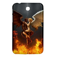 Angels Wings Curious Hell Heaven Samsung Galaxy Tab 3 (7 ) P3200 Hardshell Case  by BangZart
