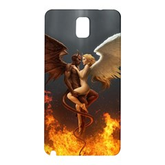 Angels Wings Curious Hell Heaven Samsung Galaxy Note 3 N9005 Hardshell Back Case by BangZart