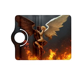 Angels Wings Curious Hell Heaven Kindle Fire Hd (2013) Flip 360 Case by BangZart