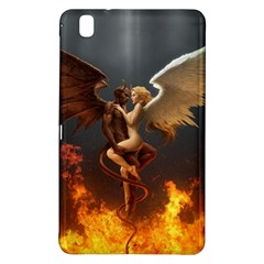 Angels Wings Curious Hell Heaven Samsung Galaxy Tab Pro 8 4 Hardshell Case by BangZart