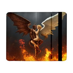 Angels Wings Curious Hell Heaven Samsung Galaxy Tab Pro 8 4  Flip Case by BangZart