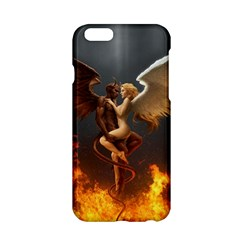 Angels Wings Curious Hell Heaven Apple Iphone 6/6s Hardshell Case