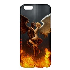 Angels Wings Curious Hell Heaven Apple Iphone 6 Plus/6s Plus Hardshell Case