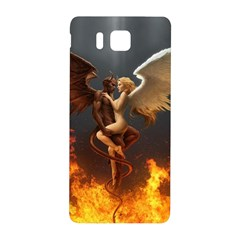 Angels Wings Curious Hell Heaven Samsung Galaxy Alpha Hardshell Back Case by BangZart