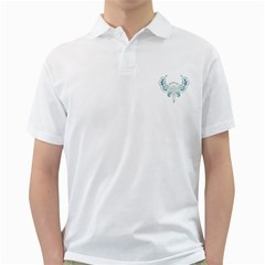 Angel Tribal Art Golf Shirts
