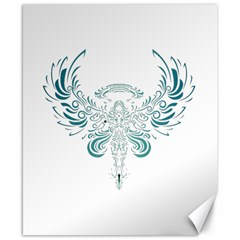 Angel Tribal Art Canvas 8  X 10