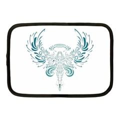 Angel Tribal Art Netbook Case (medium)  by BangZart