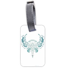 Angel Tribal Art Luggage Tags (two Sides) by BangZart