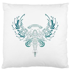 Angel Tribal Art Large Cushion Case (two Sides)