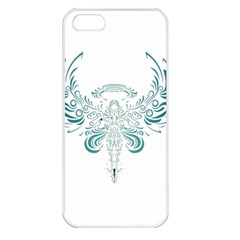 Angel Tribal Art Apple Iphone 5 Seamless Case (white)