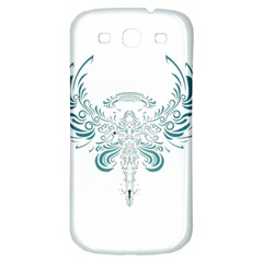 Angel Tribal Art Samsung Galaxy S3 S Iii Classic Hardshell Back Case by BangZart