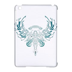 Angel Tribal Art Apple Ipad Mini Hardshell Case (compatible With Smart Cover) by BangZart