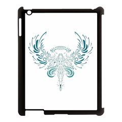 Angel Tribal Art Apple Ipad 3/4 Case (black)