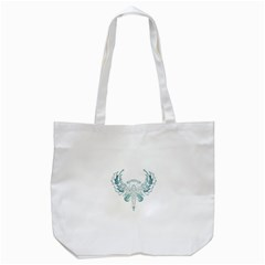 Angel Tribal Art Tote Bag (white) by BangZart