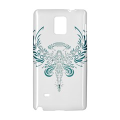 Angel Tribal Art Samsung Galaxy Note 4 Hardshell Case by BangZart