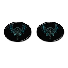 Angel Tribal Art Cufflinks (oval)