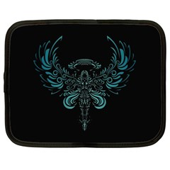 Angel Tribal Art Netbook Case (xxl)  by BangZart