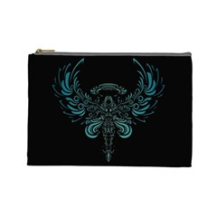 Angel Tribal Art Cosmetic Bag (large)  by BangZart