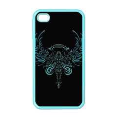 Angel Tribal Art Apple Iphone 4 Case (color) by BangZart