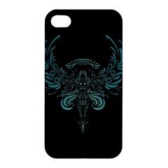 Angel Tribal Art Apple Iphone 4/4s Hardshell Case