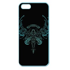 Angel Tribal Art Apple Seamless Iphone 5 Case (color)