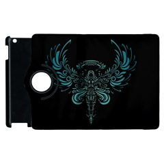 Angel Tribal Art Apple Ipad 3/4 Flip 360 Case by BangZart