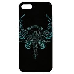 Angel Tribal Art Apple Iphone 5 Hardshell Case With Stand by BangZart